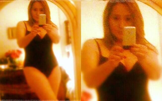 Sônia Abrão usou sua página pessoal no Instagram para postar foto sensual
