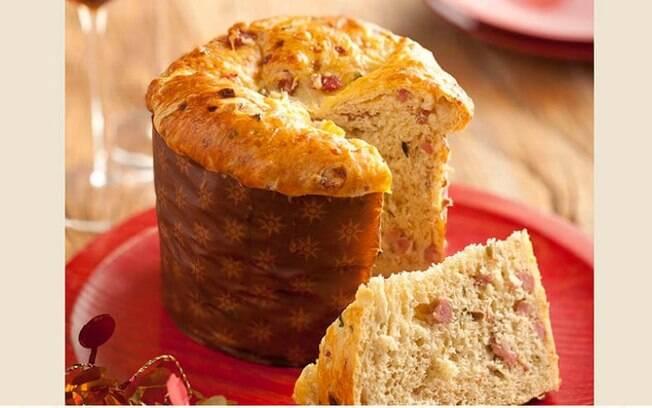 O panetone caseiro pode ser doce ou salgado e agradar a todos os paladares