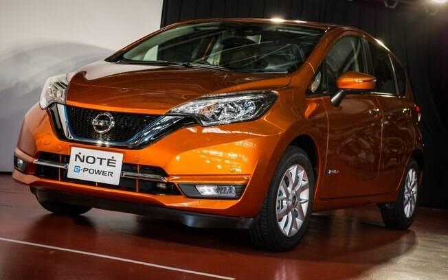 O Nissan Note, que usa a tecnologia e-Power, que usa o motor a combustãosó para gerar energia, é sucesso no Japão