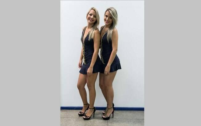 Amanda e Andressa, gêmeas que participaram do BBB 15, serão ring girls do Jungle Fight 76
