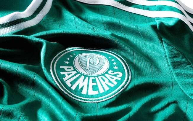 Detalhe da nova camisa 1 do Palmeiras