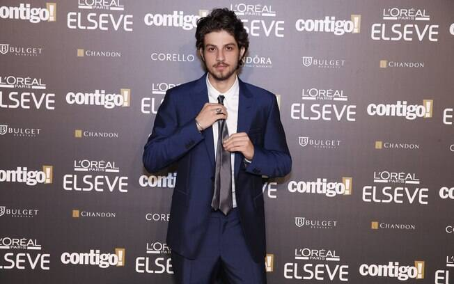 Chay Suede participou do evento
