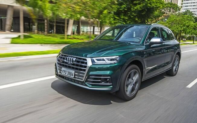 Audi SQ5: versão esportiva do SUV, com V6 turbinado, de 354 cv, tem preço sugerido de R$ 397.990