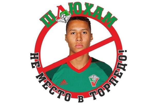 Torcida do Torpedo Moscou protestou contra contratação de um jogador negro