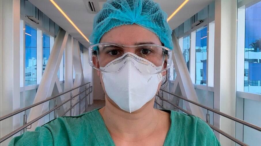 Mariane Taborda é médica infectologista e trabalha em dois hospitais