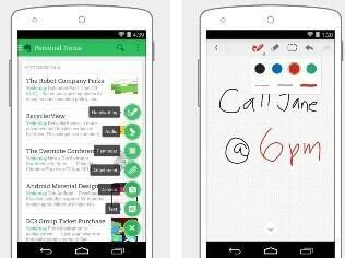 Evernote é aplicativo de bloco de notas inteligente disponível de forma gratuita para Android e iOS