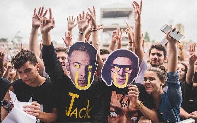 O Jack Ü de Diplo e Skrillex fez um dos melhores shows do Lollapalooza Brasil 2016
