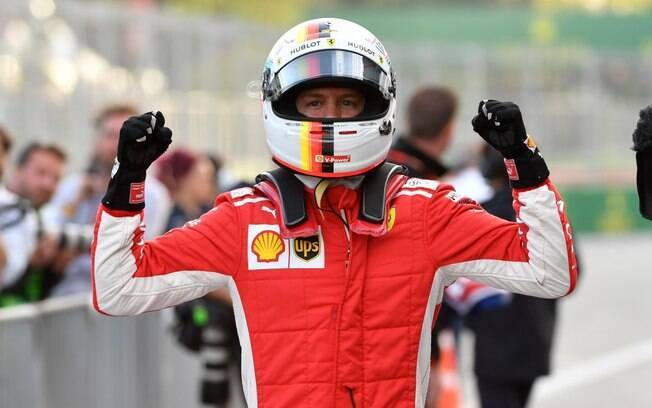 O alemão Sebastian Vettel largará na pole position no GP do Azerbaijão