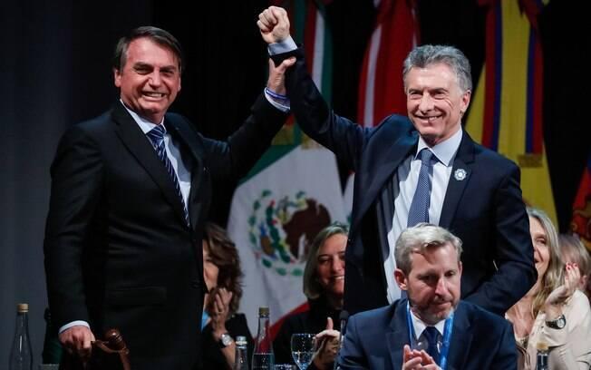 Bolsonaro havia declarado apoio à reeleição de Mauricio Macri, derrotado por Alberto Fernández