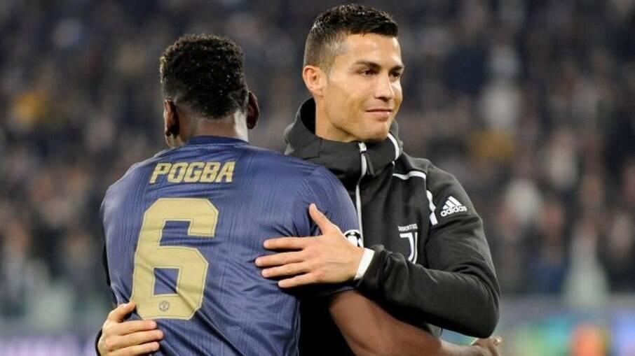Cristiano e Pogba
