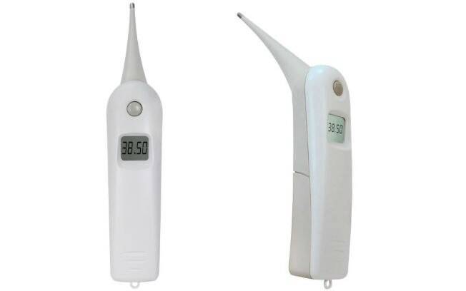 O termômetro veterinário é outra opção para medir a temperatura e diagnosticar um cachorro com febre