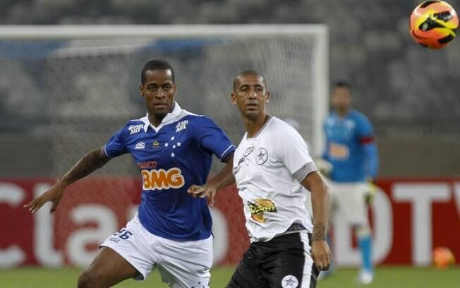 Dedé fez sua estreia com a camisa do Cruzeiro