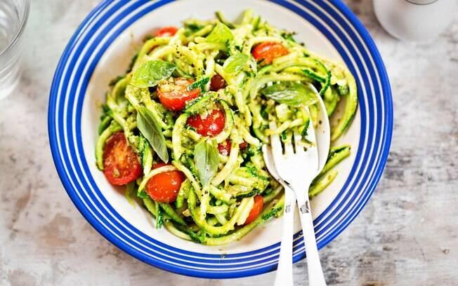 Pesto pode ser usado como molho para massas ou acompanhamento de torradas
