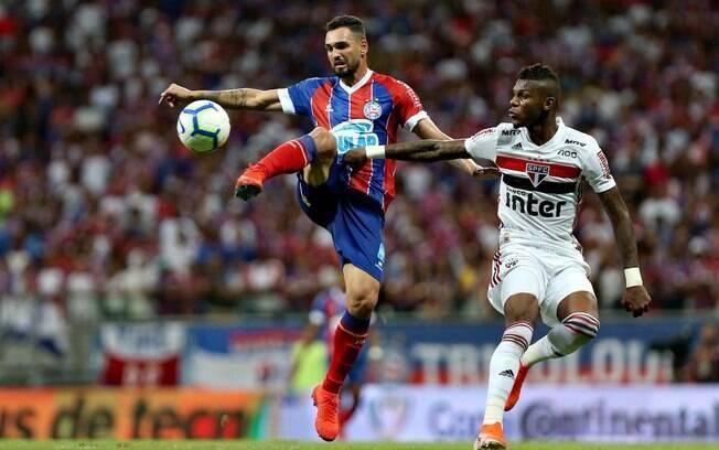 Bahia eliminou o São Paulo na Copa do Brasil