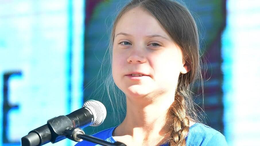 A jovem ativista ambiental fez críticas ao presidente Bolsonaro