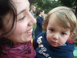 Chica e o filho João: vínculos e respeito à personalidade da criança foram os conceitos mais importantes
