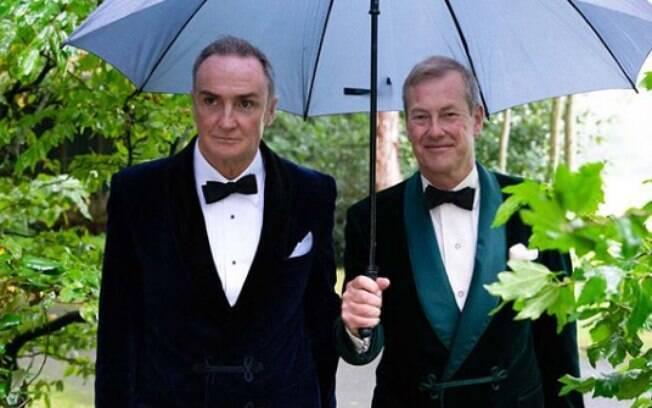 Ivar Mountbatten, casamento gay, James Coyle, família real britânica