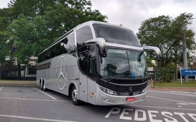 Mercedes-Benz O 500 RSD 2443 6x2 vem com itens antes disponíveis apenas os carros leves de passeio