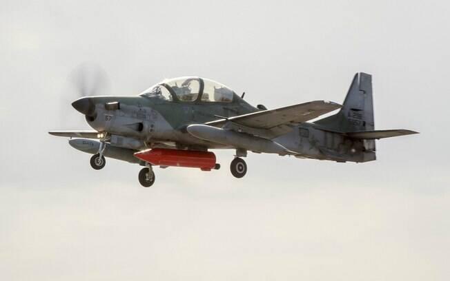 Interceptação foi feita pelo avião A-29 Super Tucano da Força Aérea Brasileira