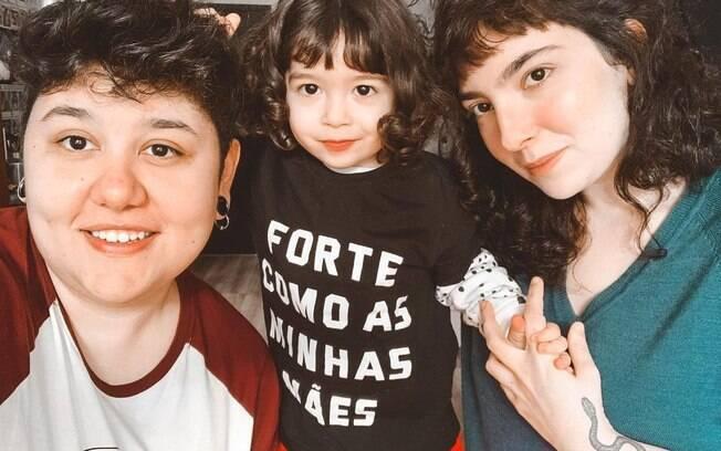 Laura, Lavínia e Camila