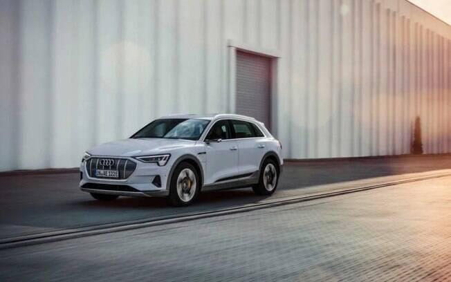 O E-tron será o primeiro veículo SUV da Audi à base de eletricidade
