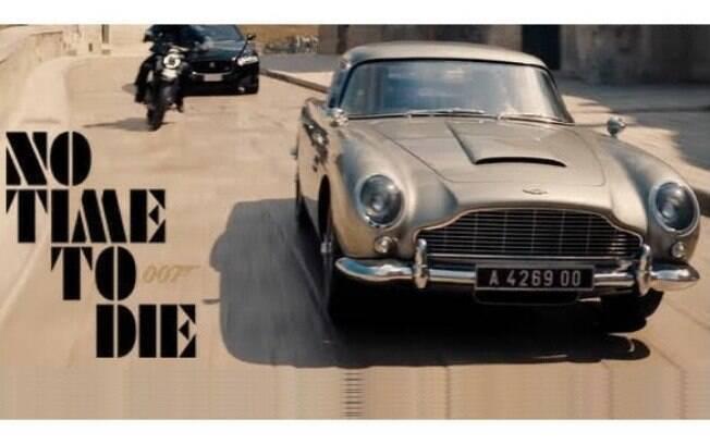 Aston Martin é a fabricante mais icônica em 007, com a aura dos esportivos ingleses