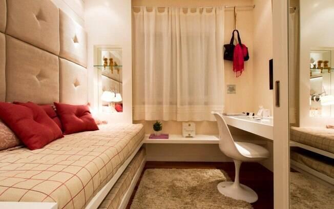 Conforto em quartos pequenos Arquitetura iG