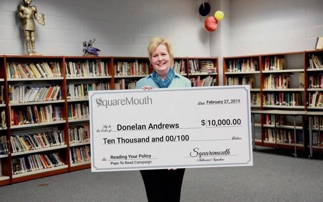 Donelan Andrews ganhou 10 mil dólares porque leu todo o contrato do seguro viagem
