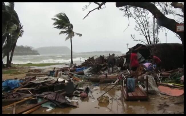 Ciclone na Oceania