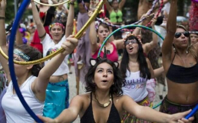 Bloco das Mulheres Rodadas reuniu 3 mil pessoas no Rio em 2015