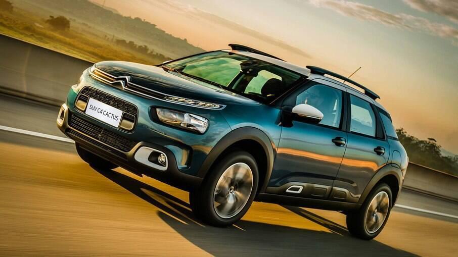 Citroën C4 Cactus:  SUV compacto está em promoção até dia 22 e parte de R$ 89.990