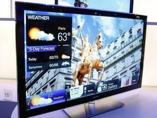 Nova versão da SmartTV, da Samsung, funciona interconectada com a nuvem e outros dispositivos da marca