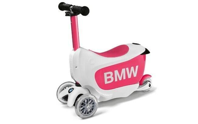 Opção para crianças, que podem guardar objetos (brinquedos) dentro do veículo
