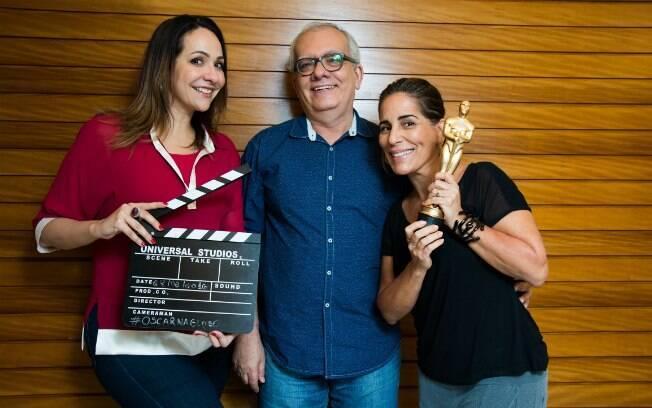 Os apresentadores da Globo passaram sufoco por conta do fraco desempenho de Gloria Pires