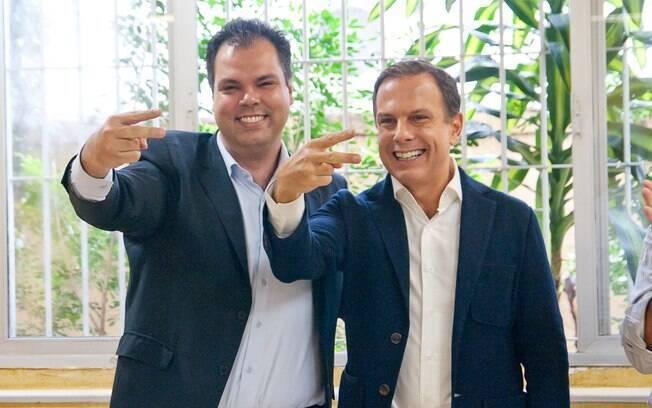 Além do apoio do governo Geraldo Alckmin, Doria contará agora com o apoio de Bruno Covas