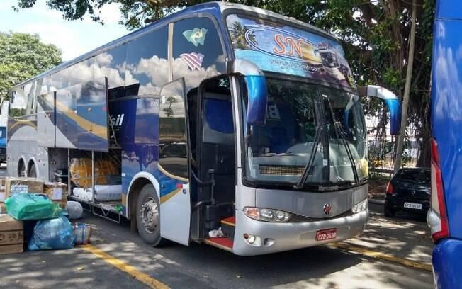 Polícia encontra 21 kg de drogas e prende foragido em ônibus