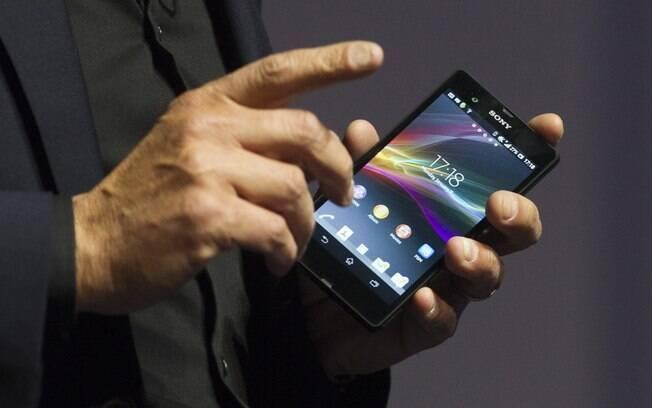 Xperia Z, novo smartphone da Sony, vem com Android e câmera de 13 megapixels