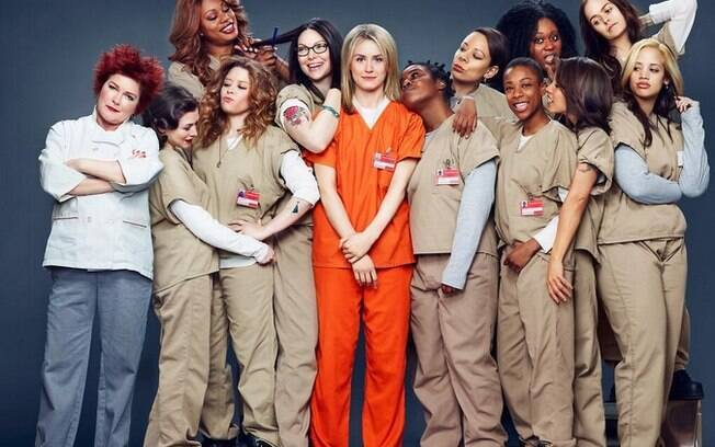 "O elenco de""Orange Is The New Black"