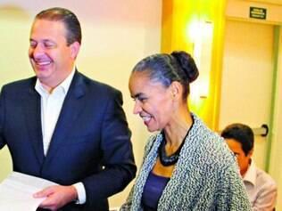 União. Até o momento, Eduardo Campos e Marina Silva mostram-se unidos, mas sofrem muita pressão