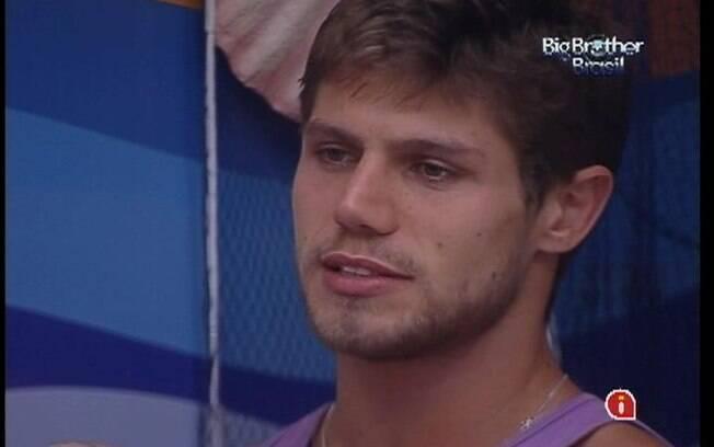 Jonas não tem palpite sobre o resultado do Paredão