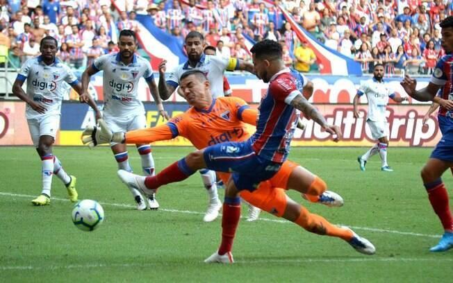 Bahia e Fortaleza empataram em Salvador