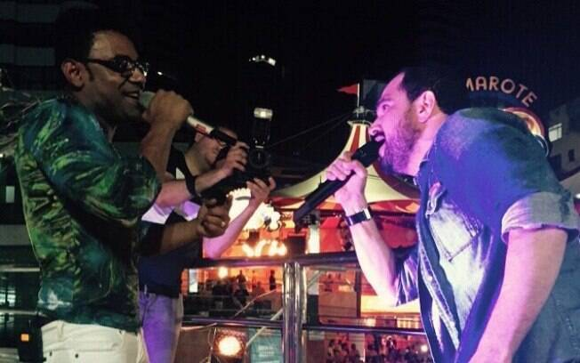 Luciano participa de show de Pablo em Salvador