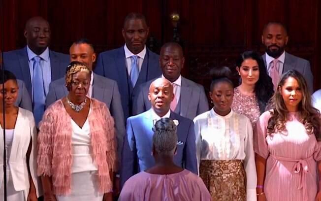 A origem negra da noiva foi protagonista do casamento real: o coral The Kingdom Choir  emocionou o mundo inteiro