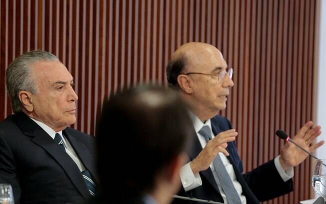 Michel Temer e Henrique Meirelles participaram da reunião do Conselho de Desenvolvimento Econômico e Social