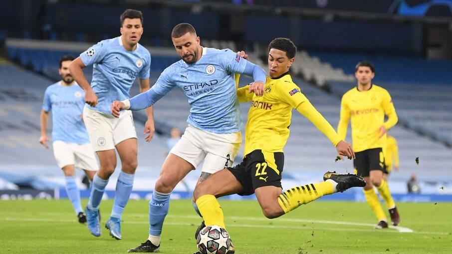 Borussia Dortmund e Manchester City se enfrentam nesta quarta-feira pela Champions