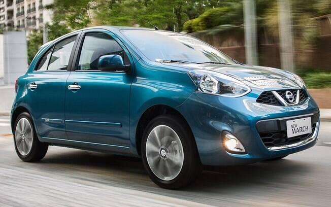 Nissan March logo deverá deixar de ser produzido em Resende (RJ), com baixas vendas no mercado
