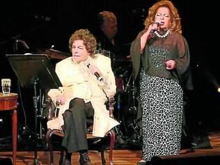 Vozes poderosas. Os dois interpretam clássicos de bolero e samba-canção