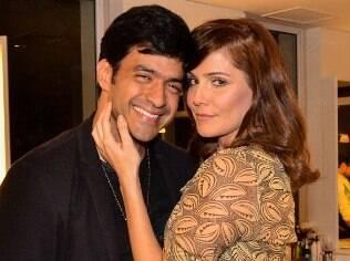 Deborah Secco com Allyson Castro
