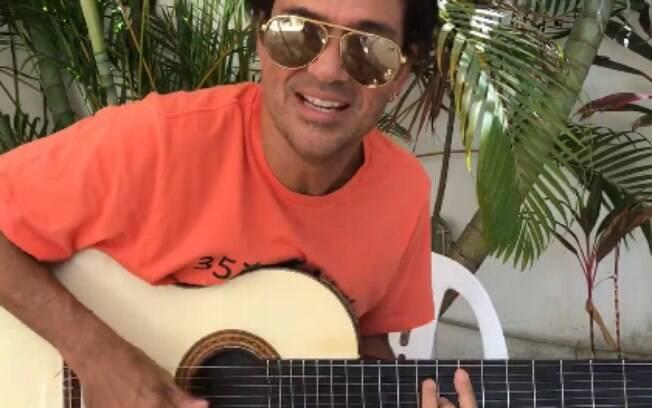Cantor Jorge Vercillo esclarece polêmicas sobre o hit 'Que Tiro Foi Esse'