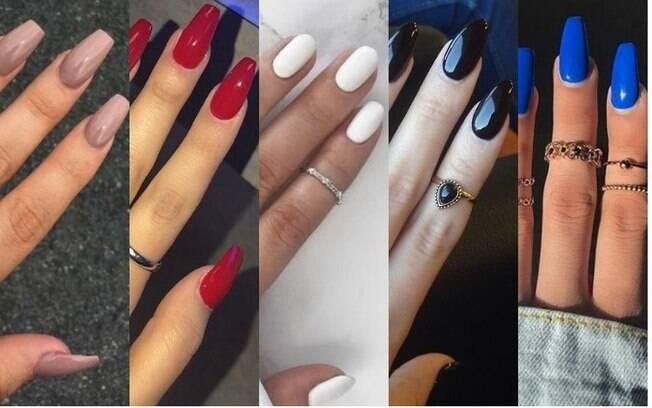 O que está bombando na lista de dicas de beleza das mexicanas são as diversas cores de esmalte para pintar as unhas